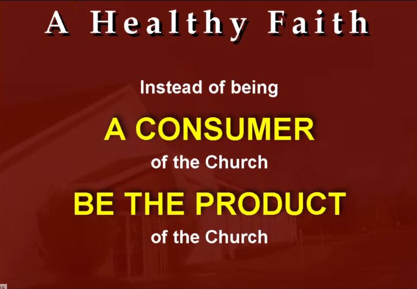 What We Need For A Healthy Faith