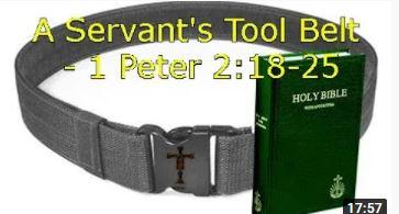 A Servant's Toolbelt